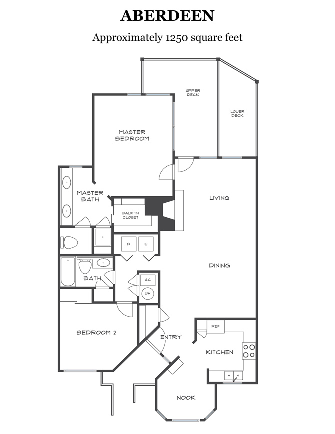 Click links on left to display Rossmoor floorplans